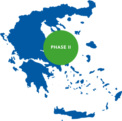 Phase II: Project implementation in Greece